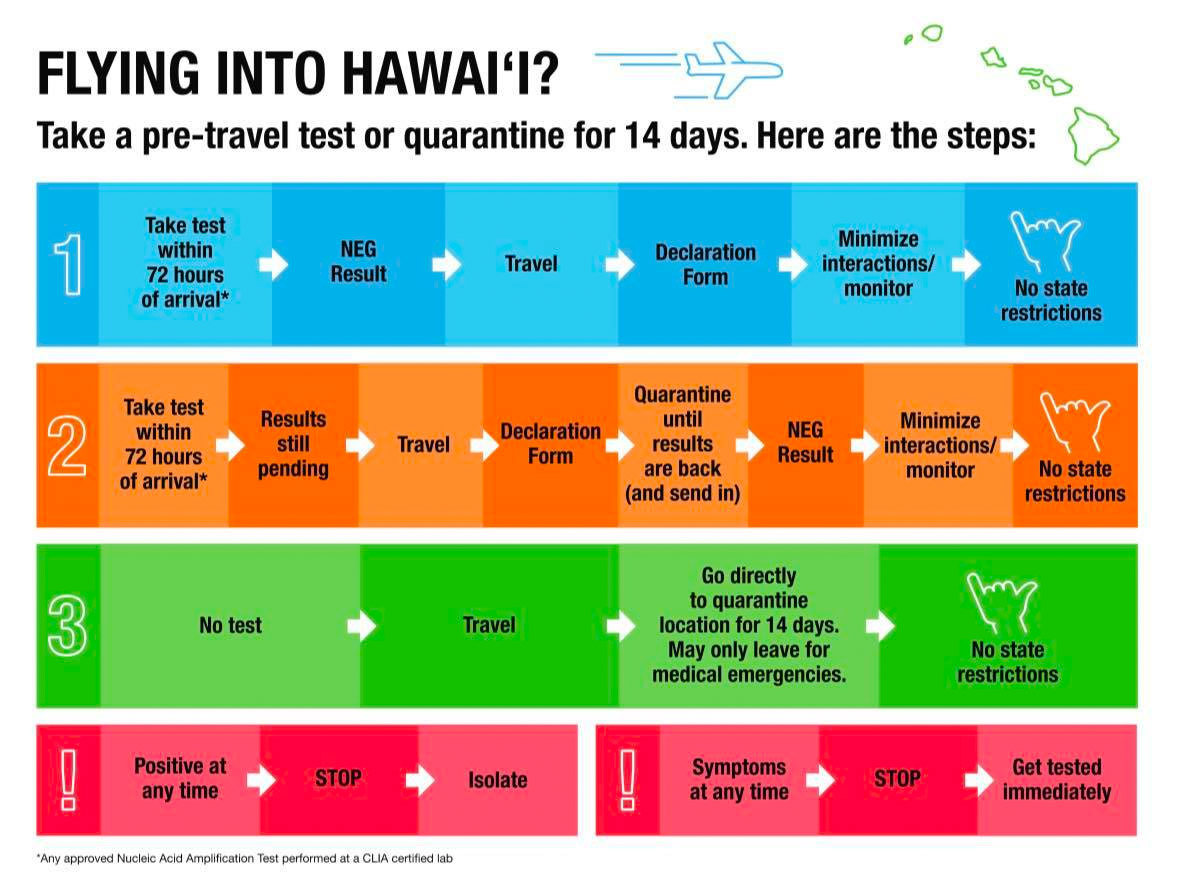 Flying into Hawaii Flow Chart