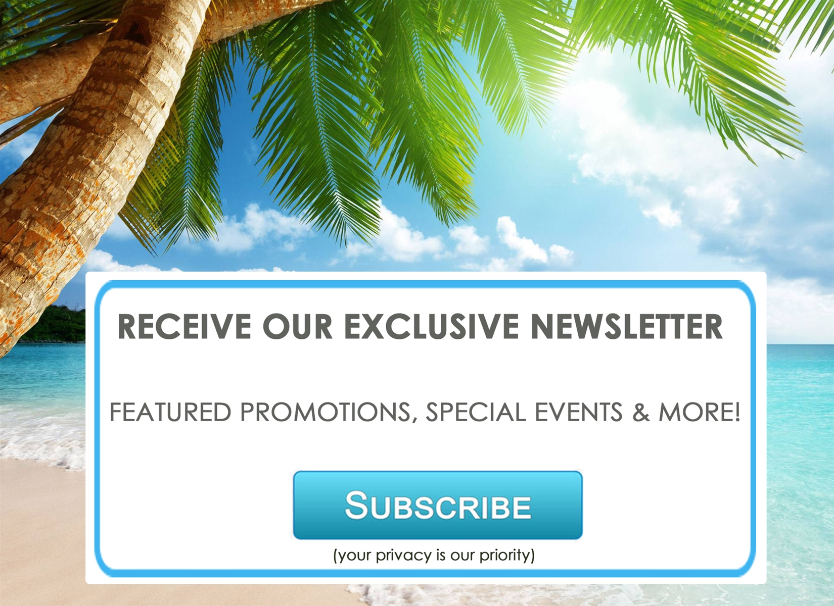 luxurious destinations newsletter
